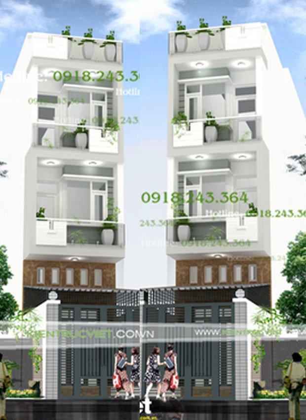 Tư vấn thiết kế nhà 3*17, xây dựng 900tr