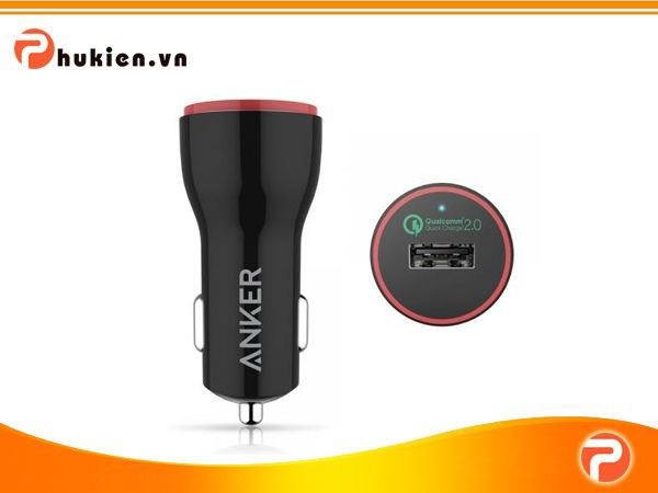 Sạc Ô TÔ Anker PowerDrive+ 1 [Qualcomm Quick Charge 2.0]