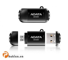 USB Adata OTG AUD320 32GB - BLACK