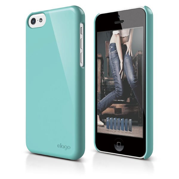 Vỏ iPhone 5C Elago Slim Fit 2 (Coral Blue)