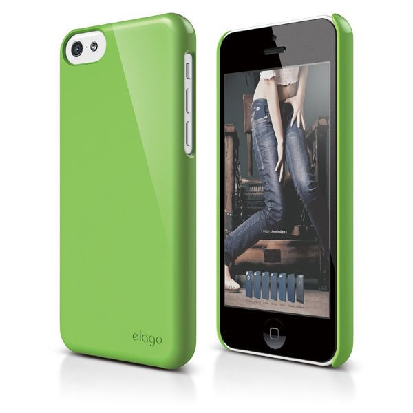 Vỏ iPhone 5C Elago Slim Fit 2 (Green)