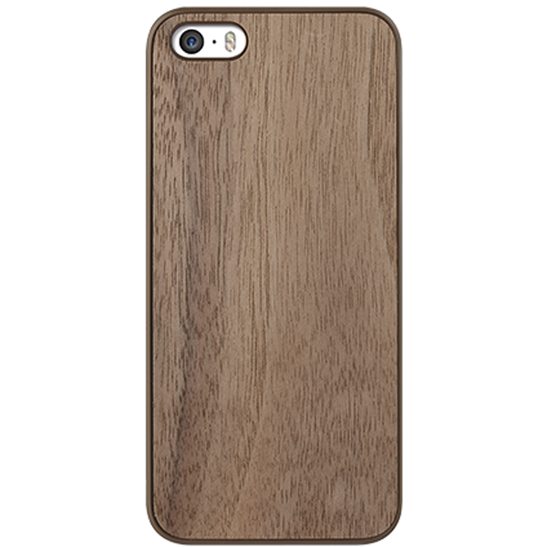 Vỏ iPhone 5 Ozaki 0.3 + Wood (Ebony)