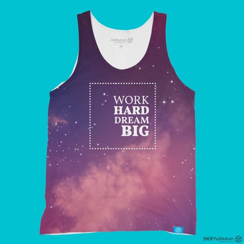 Work Hard Dream Big - Tank Top
