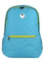 The Casey Backpack (M) Ocean Blue