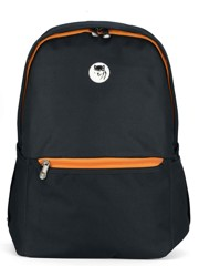 Mikkor The Casey Backpack (M) Black