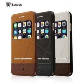 Bao da iPhone 6 Plus/6S Plus Baseus Unique (da PU cao cấp, sang trọng, tiện dụng, chống va đập)