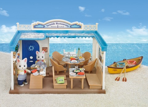 Sylvanian Families - Seaside Restaurant Gift Set