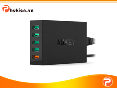 Sạc Aukey 5 cổng Quickcharge 2.0