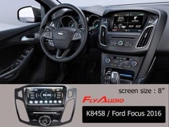 DVD Flyaudio K8458 FORD FOCUS 2016