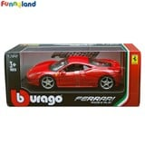 1:32 Ferrari 458 Italia - Red (Model Kit) ('10)