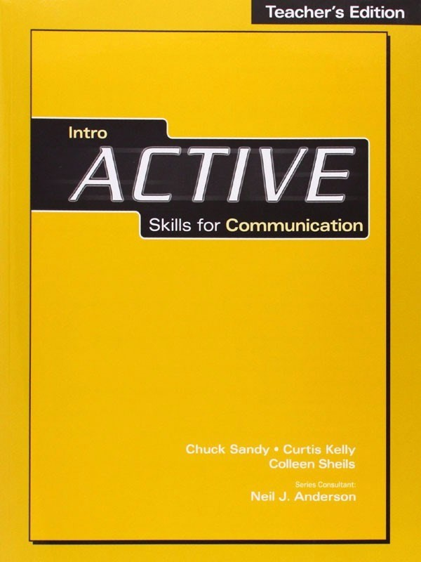 Active Skills For Communication Intro: Teacher Book