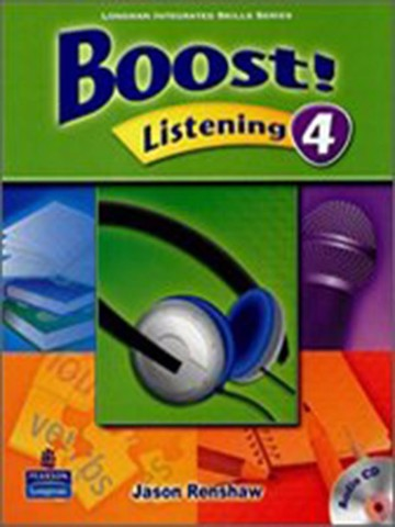 Boost! Listening 4: Student Book with CD