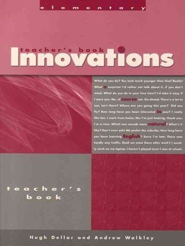 Innovations Elementary: Teacher Book