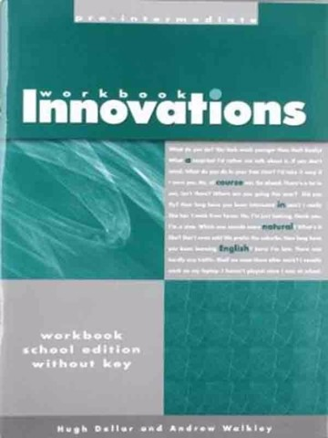 Innovations Pre-Intermediate: Teacher Book