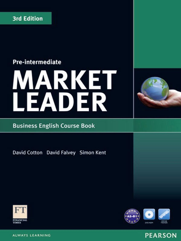 Market Leader ( 3 Ed.) Pre-Inter: Course Book with DVD-ROM