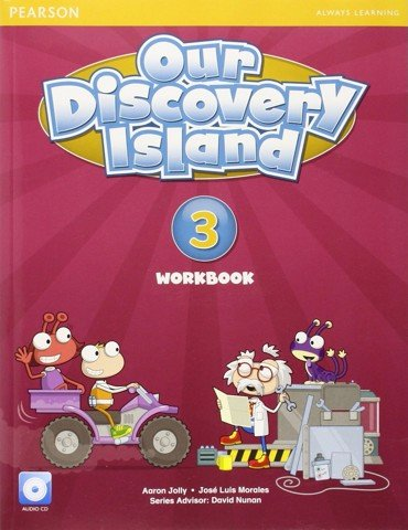 Our Discovery Island (AmE) 3: Workbook with CD