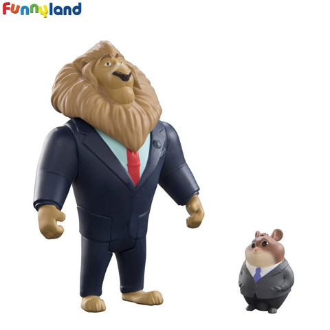 Tomy Disney Zootopia Mayor Lionheart & Lemming