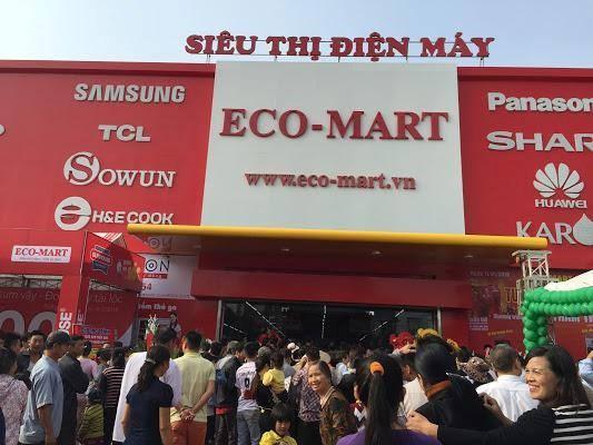 Điện Máy Eco-mart Mê Linh quá tải ngày khai trương