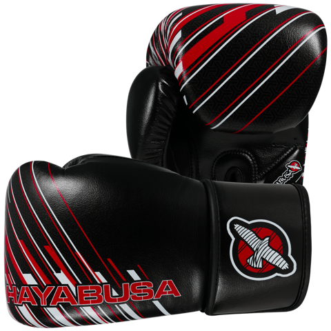 GĂNG TAY IKUSA CHARGED 14OZ GLOVES - BLACK/RED