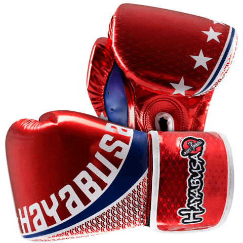 GĂNG TAY HAYABUSA PRO MUAY THAI 10OZ GLOVES - RED