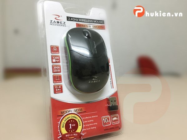 Wireless Mouse Zadez M335