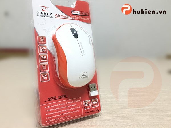 Wireless Mouse Zadez M359