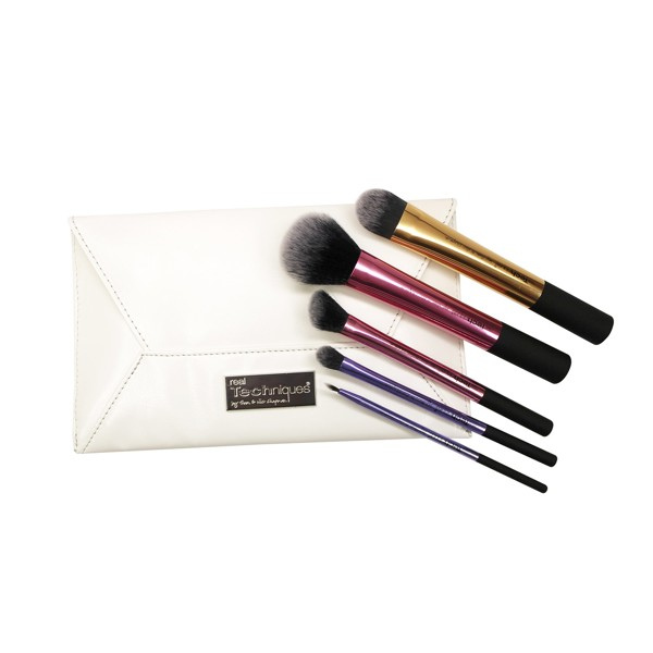 Bộ cọ Real Techniques Deluxe Gift Set 2 Exclusive Brushes + Clutch