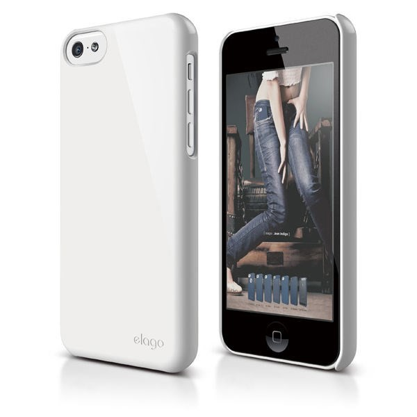 Vỏ iPhone 5C Elago Slim Fit 2 (White)