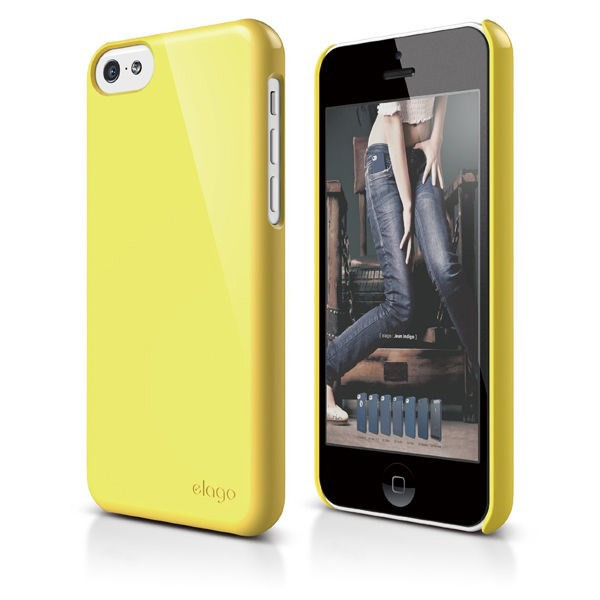 Vỏ iPhone 5C Elago Slim Fit 2 (Yellow)