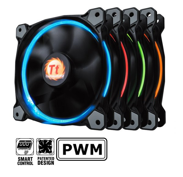 Ring Fan Thermaltake led Red