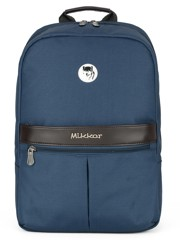 Mikkor The Elvis Backpack (M) Navy
