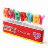 Hộp nến chữ Happy Birthday - Happy Birthday  candle box