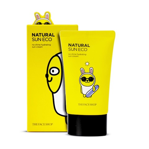 Kem Chống Nắng‬ The Face Shop Natural Sun Eco No Shine Hydrating Sun Cream 50ml