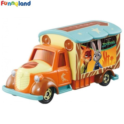 Tomica DISNEY MOTORS Goody Carry Zootopia