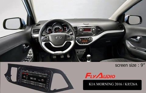 DVD Flyaudio K8526A KIA MORNING 2016