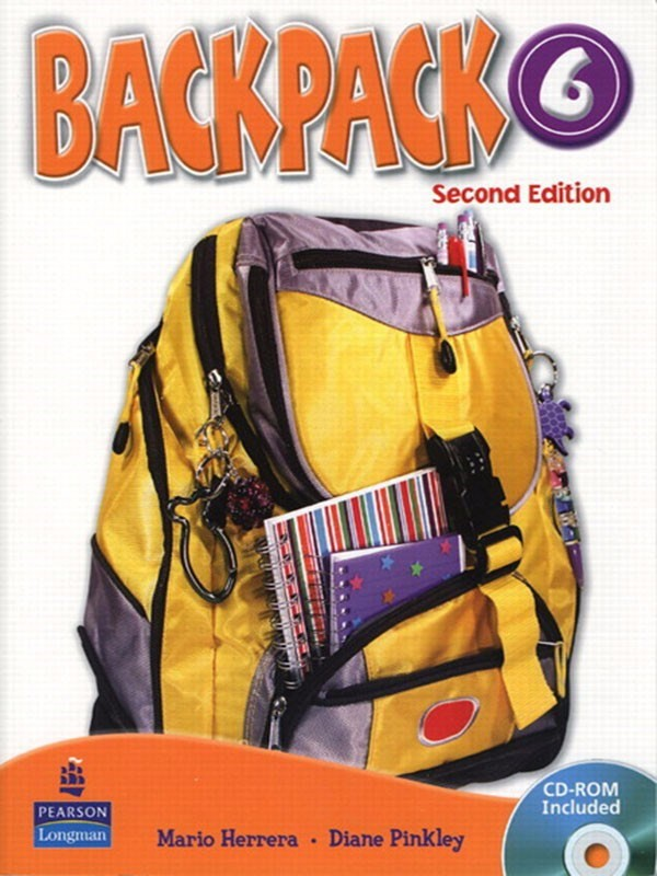Backpack (2 Ed.) 6: Student Book with CD-Rom