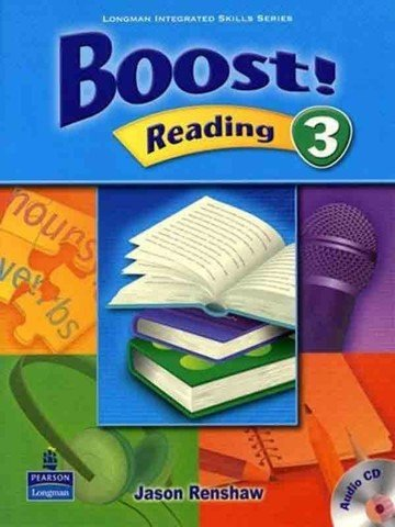 Boost! Reading 3: Student Book with CD