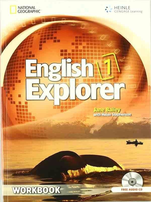 English Explorer 1: Workbook with Audio CDs