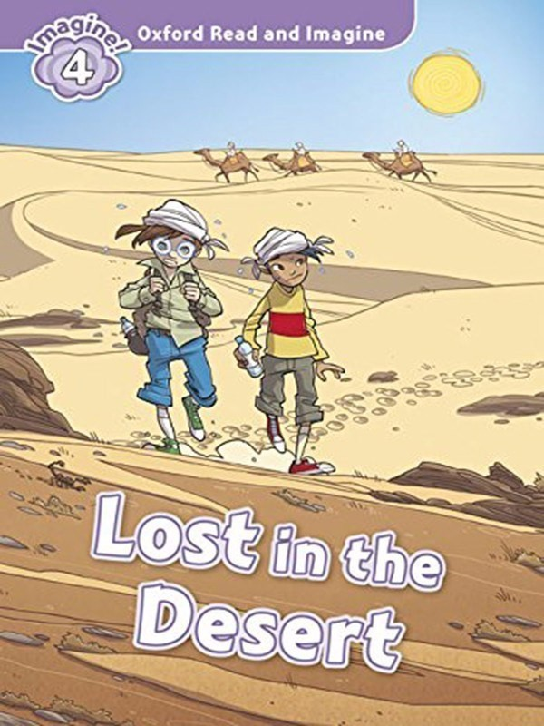 Oxford Read and Imagine 4: Lost in Desert Audio CD Pack