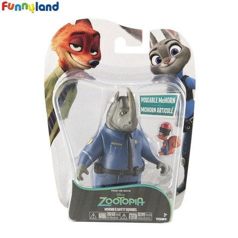 Tomy Disney Zootopia McHorn & Safety Squirrel
