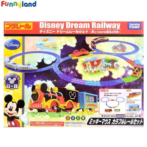 Disney Dream Railway Mickey Mouse Colorful Rail Set