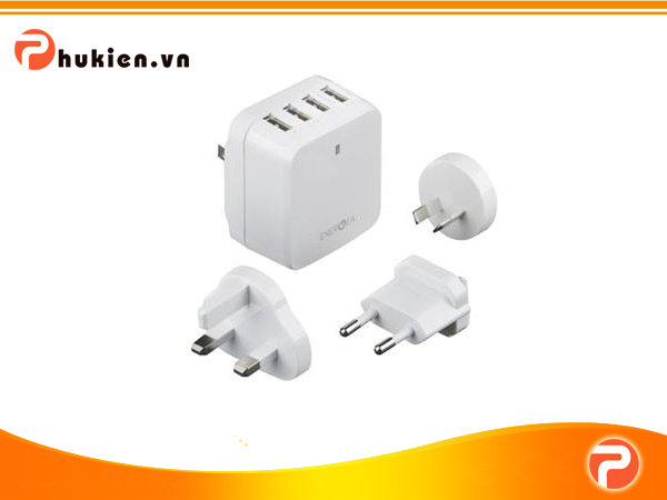 Sạc Energea Travelworld 4USB - 6.8A