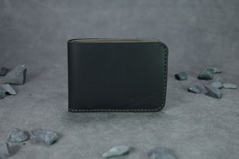 VÍ da nam Mini Bifold Wallet Black