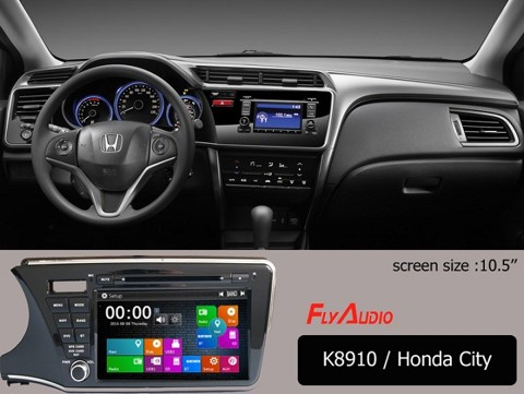 DVD Flyaudio K8910 HONDA CITY 2016