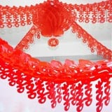 Dây treo song hỷ đỏ - Red Chinese happy wedding garland