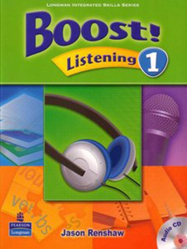 Boost! Listening 1: Student Book with CD