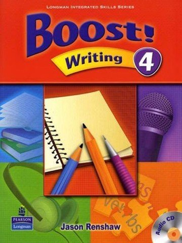 Boost! Writing 4: Student Book with CD