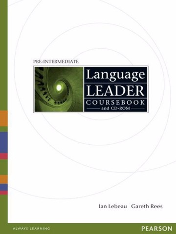 Language Leader Pre-Inter: Coursebook with CD-Rom