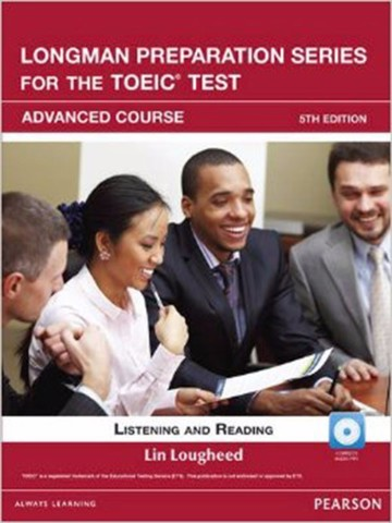 Longman Preparation TOEIC ( 5 Ed.) Adv: Student Book with Mp3 with Itest