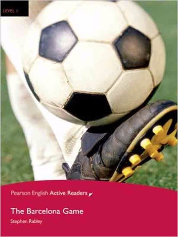 The Barcelona Game: Level 1: Book with CD-ROM (Pearson English Active Readers)